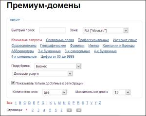 Как придумать доменное имя?