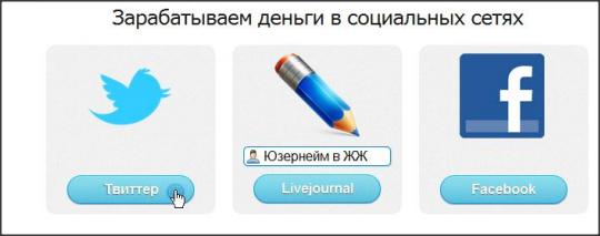 Монетизация в Twite.ru
