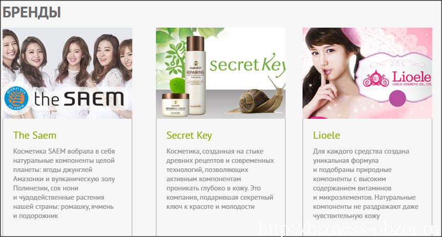 Купить корейскую косметику москва оптом